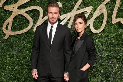 David and Victoria Beckham are masters of simple but (very) effective couple dressing