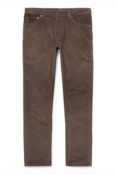 Cotton And Cashmere-Blend Corduroy Trousers by Berluti