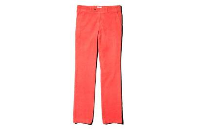 How to wear bright trousers