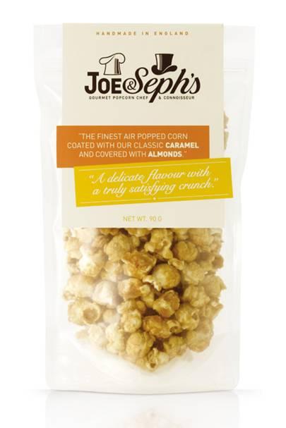Joe & Seph's peanut butter & chocolate caramel popcorn