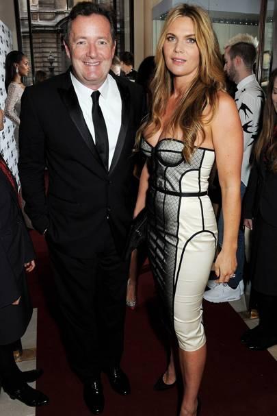 Piers Morgan & Celia Walden