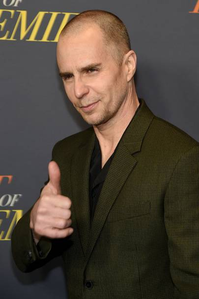 Sam Rockwell is our new favourite bald badass