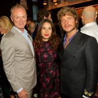 Gary Kemp, Lauren Kemp and Luke Day