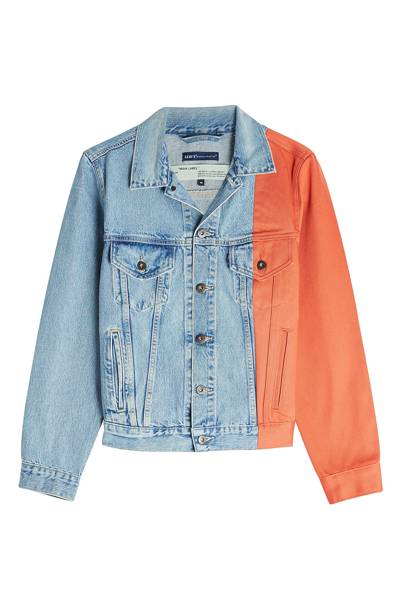Denim jacket by Off White x Levis