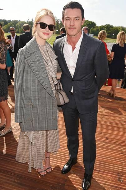 Emma Stone & Luke Evans
