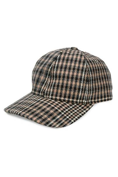 AMI houndstooth check cap