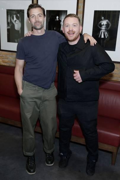 Patrick Grant (E Tautz) and Craig Green