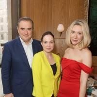 Dominic McCarthy, Louisa McCarthy and Emma Philpott