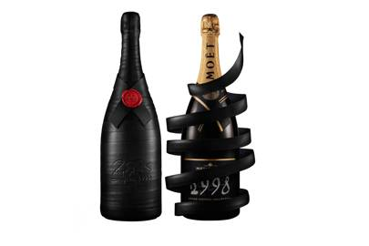 Limited edition champagne by Moët & Chandon