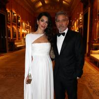 Proving black and white always wins at 'The Prince's Trust' Buckingham Palace dinner