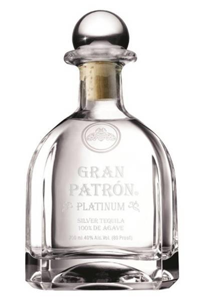 Gran Patrón Platinum Silver Tequila by Patrón