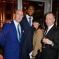 Dylan Jones, Anthony Joshua, Claudia Winkleman and Tony Parsons