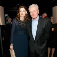 Amanda Berry, Chief Executive of BAFTA and her husband