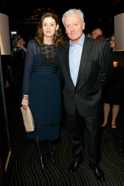 Amanda Berry, Chief Executive of BAFTA and her husband