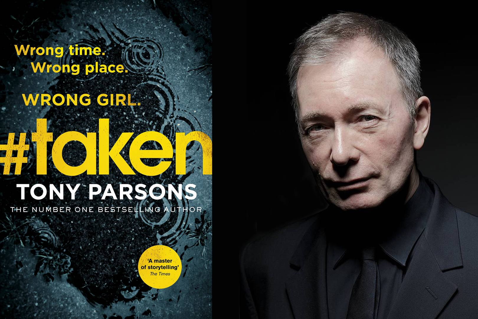 Exclusive: Read Tony Parsons' new book '#Taken' in its entirety