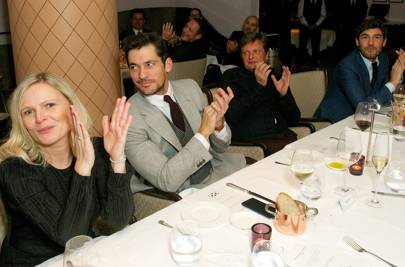 Charlotte Hickson, David Gandy, Tom Chapman and Robert Konjic