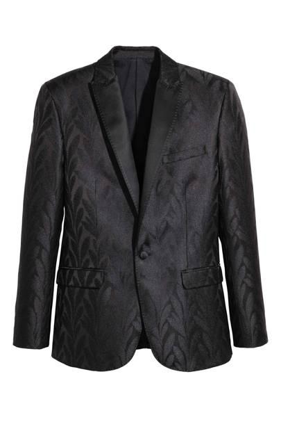 H&M Conscious jacquard tuxedo jacket