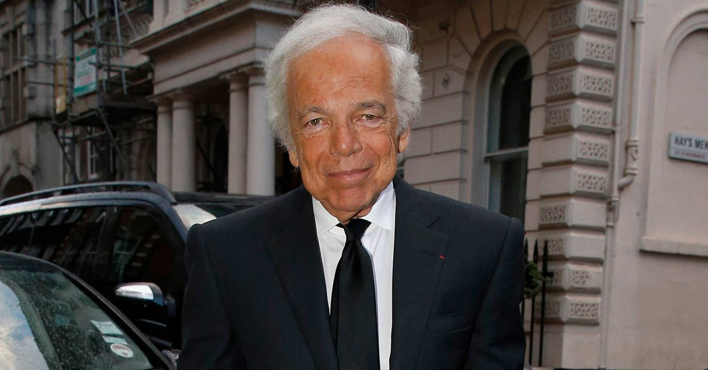 Ralph Lauren knighthood: the American designer will become a sir as of next year