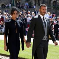 Arriving to the Duke and Duchess Of Sussex's wedding