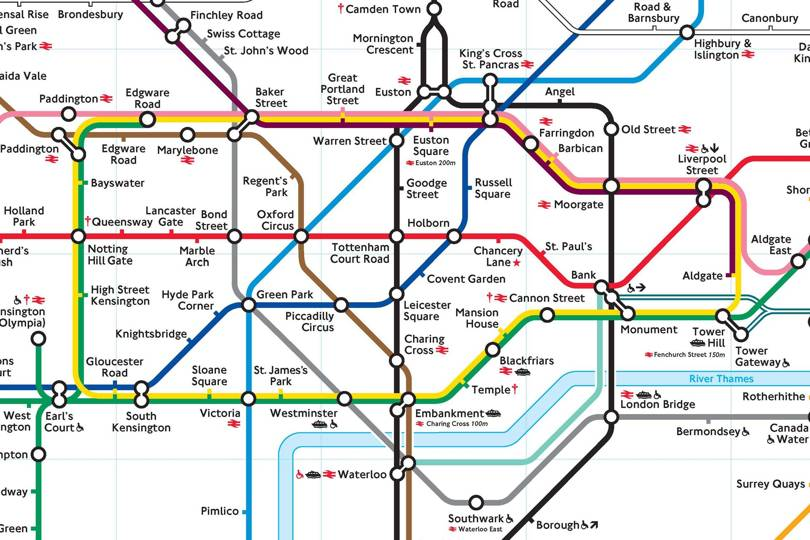 Best Alternative Tube Maps British Gq