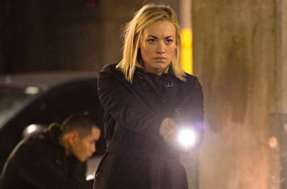 As CIA Agent Kate Morgan in 24: Live Another Day
