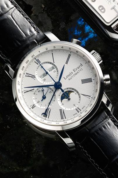 Excellence Moonphase Chronograph by Louis Erard