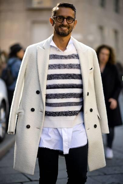 The Best Men 39 S Street Style From Milan Fashion Week Women 39 S Aw17 British Gq