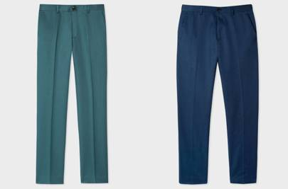Custom trousers by Paul Smith