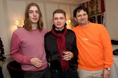 Jack Fussey,Blondey and Gareth Skewis