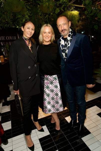Caroline Rush, Gemma Ebelis and Julian Vogel
