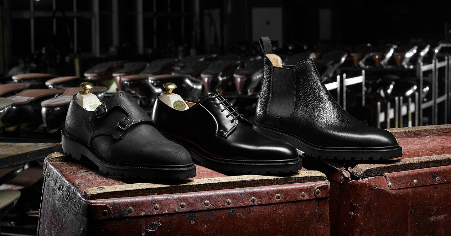Why Crockett & Jones' The Black Editions collection should be your go-to shoes this winter