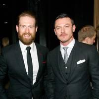 Craig McGingley and Luke Evans