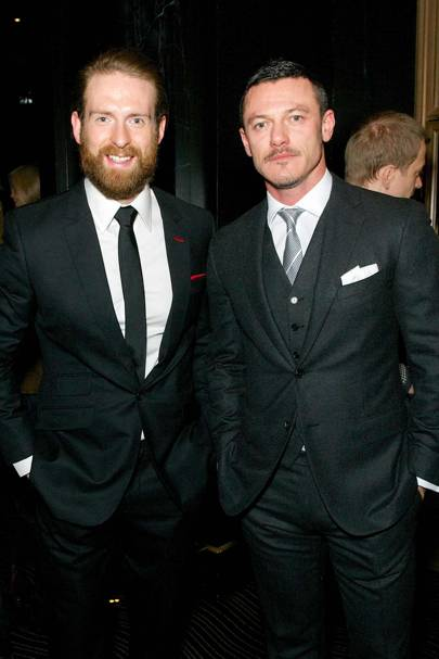Craig McGingley and Luke Evans