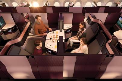 Qatar Airways introduces double beds on Heathrow flights