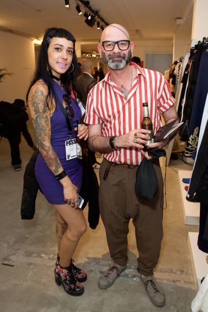 Celia Arias and Hector Degregorio