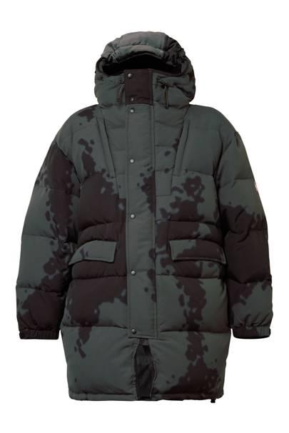 Oversized down coat by CAV EMPT