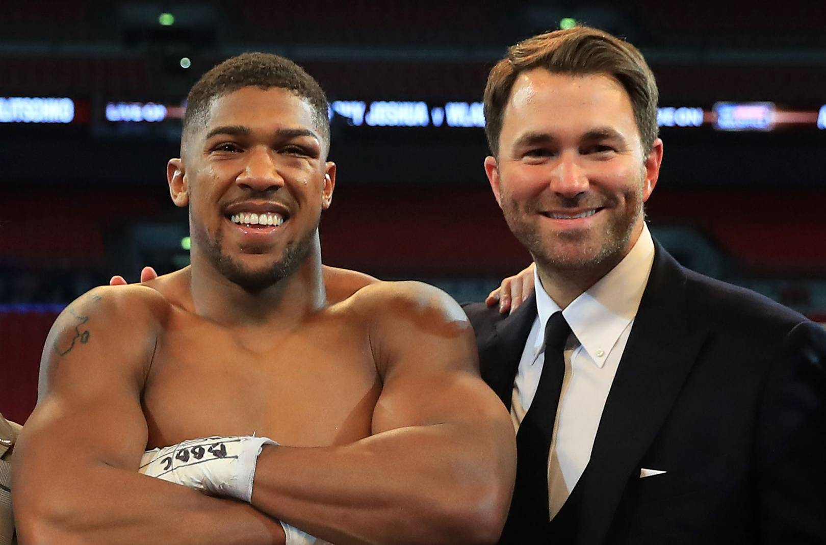 4dbabd3d99d Eddie Hearn   Joshua vs Klitschko was the greatest night in British boxing  history