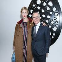 Eva Riccobono and Tommy Hilfiger