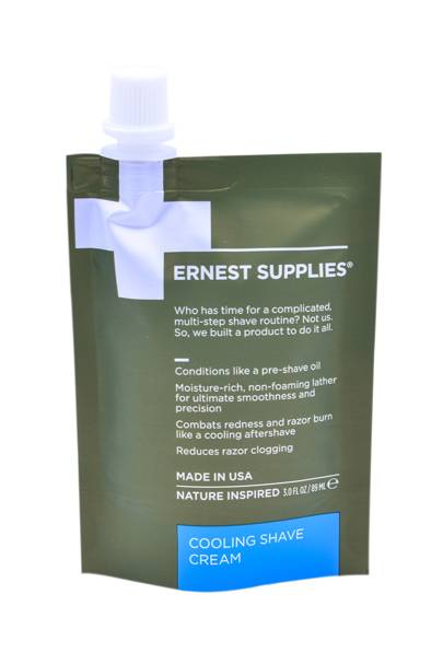 Cooling Shave Cream by Ernest Supplies