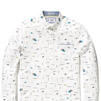 Original Penguin 'Paintbrush' shirt