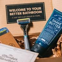 Shaving kit by Dollar Shave Club