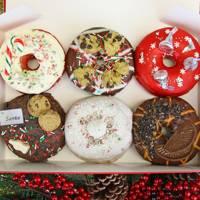 Festive doughnuts