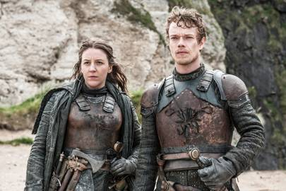 12. Theon and Yara