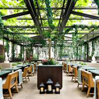 The Botanist Greenhouse at Rosewood London
