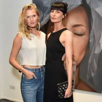Toni Garrn and Erin O'Connor