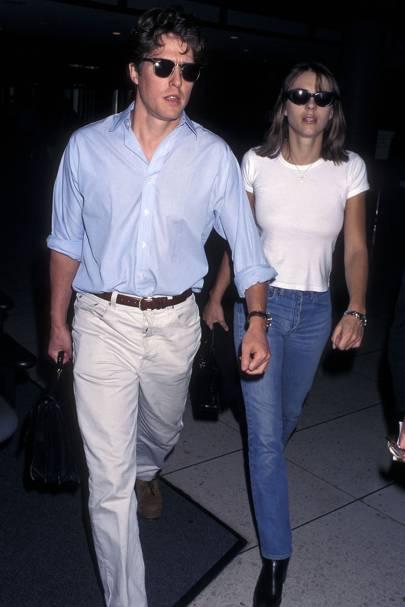 Hugh Grant and Elizabeth Hurley, 1997