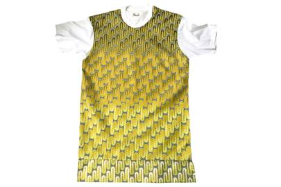 Goldlink Print Tee by Made By Lizzy