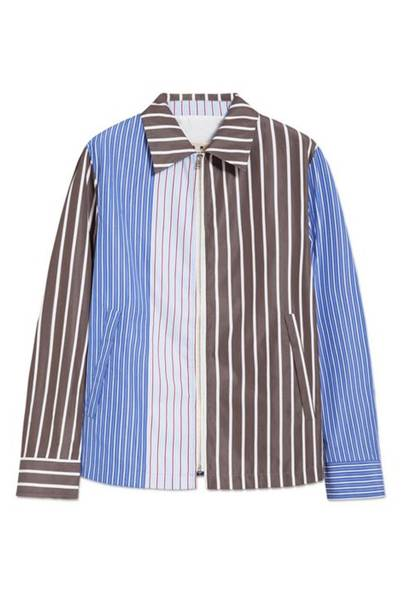 Bengal stripe shirts are big news right now and this patchwork take on the classic style is bang on trend and perfect to see you through that tricky period between winter and summer.