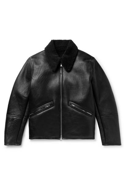 Shearling leather jacket by Our Legacy