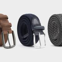 Suede, Leather and Wool Belts by Dalgado
